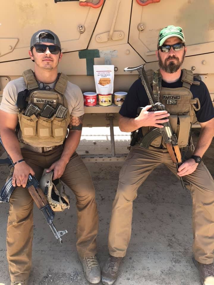 Red Rocker Candy Makes it to Afghanistan