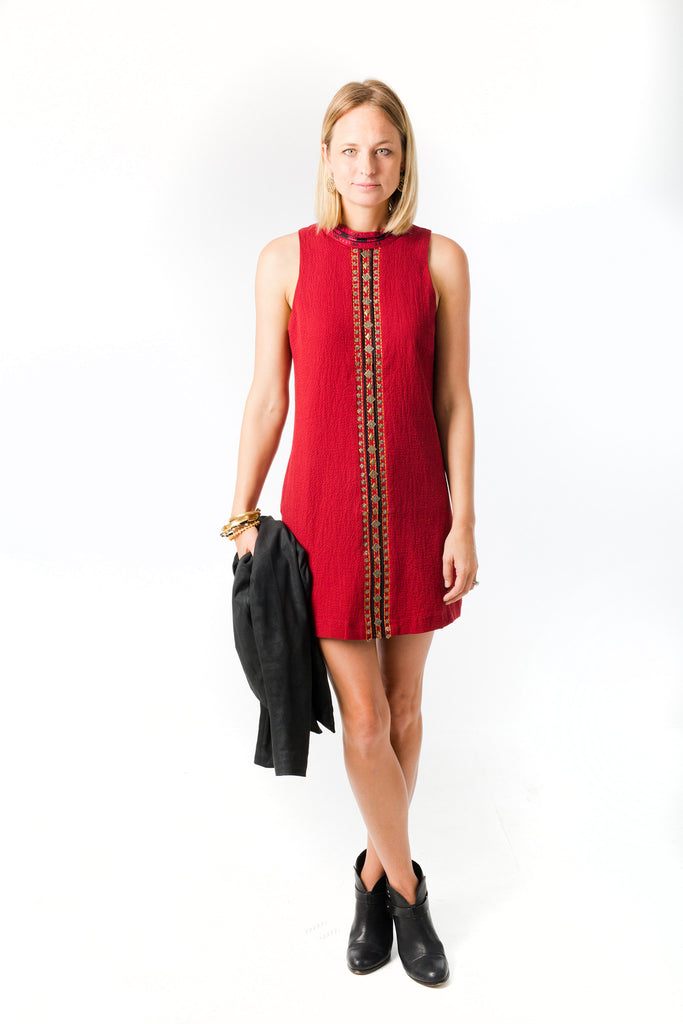 Woven Bead Dress