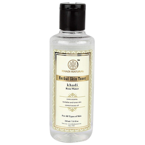 Natural Rose Water Toner - maintain the skin's pH balance, provides antioxidants, anti-inflammatory, antiseptic properties that can help reduce the redness of irritated skin