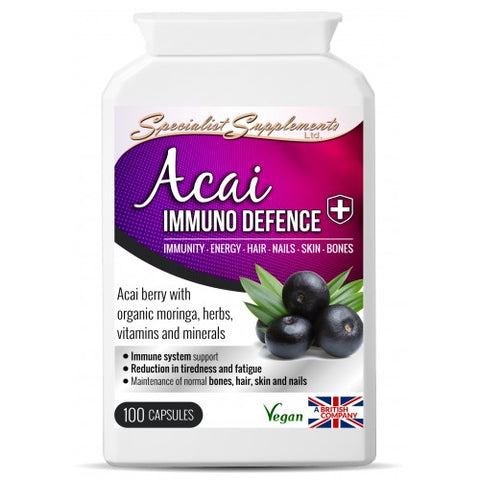Acai Immuno Defence - Ohm Healthcare