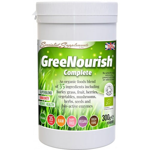 GreeNourish Complete (ORGANIC) - Ohm Healthcare