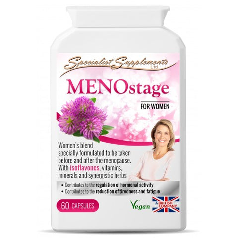 MENOstage (for menopause) - Ohm Healthcare