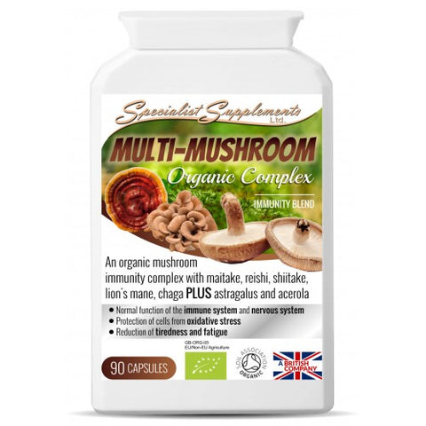 Multi-Mushroom Blend (ORGANIC) - Ohm Healthcare