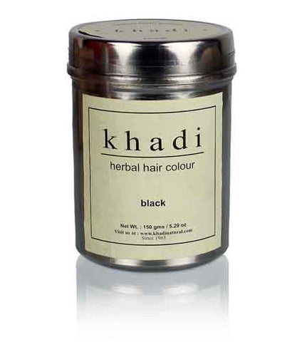 Ayurvedic Black Henna Natural Hair Colour - Ohm Healthcare