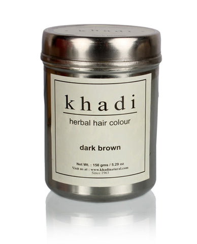 Ayurvedic Dark Brown Henna Natural Hair Colour