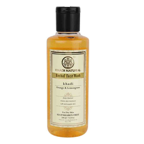Ayurvedic Orange & Lemongrass Face Wash