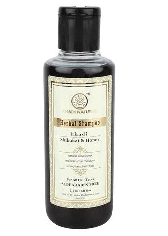 Ayurvedic Shikakai & Honey Shampoo - Prevents Drying Of Hair And Keeps Them Conditioned SLS & PARABEN FREE