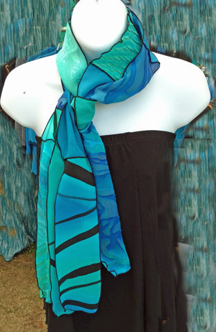 Linda's One-of-a-Kind Pieced Scarves