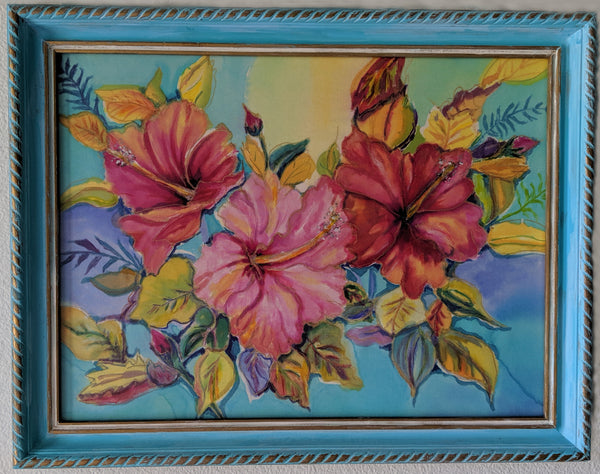 The Art of Silk Painting Class  by Linda Tilson