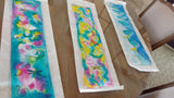 Class - Silk Scarf Painting  Oct 4 from 1-4 pm - Linda Tilson Studio Venice