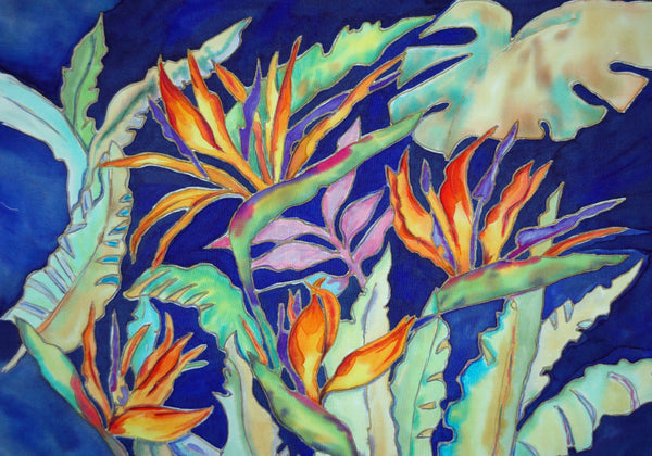 Class- Art of Silk Painting  by Linda Tilson   Oct 11 from 1-4 pm - Linda Tilson Studio Venice