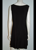 Travel Light Sleeveless  Black Dress - Linda Tilson Studio Venice