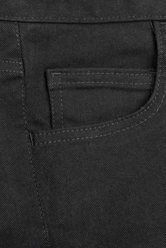Slim Fit - Black Denim Jeans - 5 Pockets