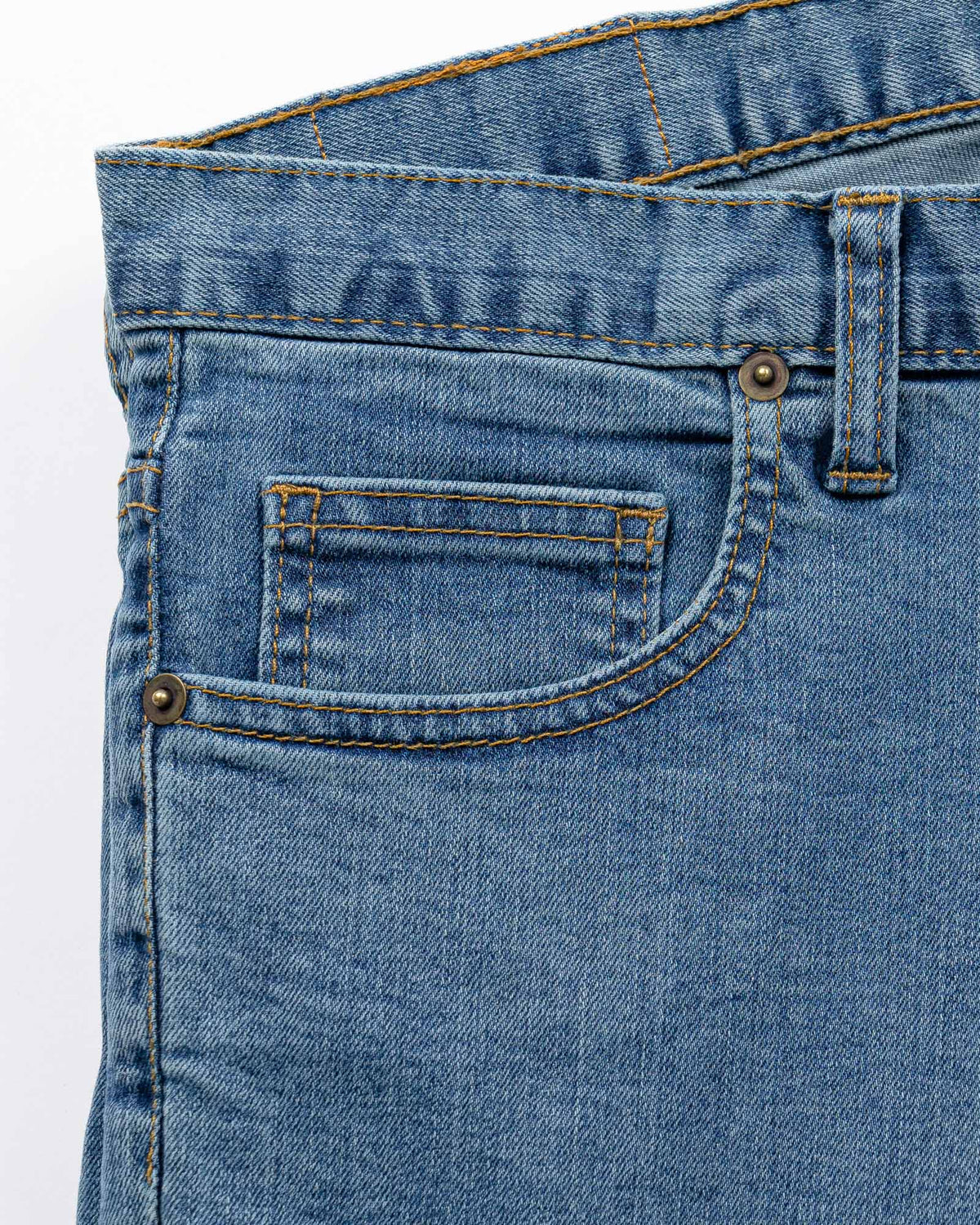 Boot Cut Light Stretch Denim Jeans Men's Jeans