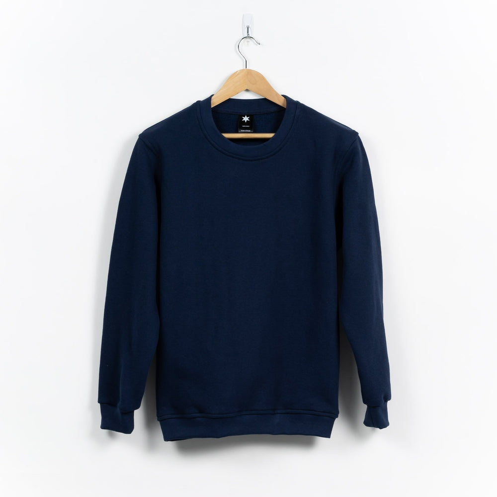 Collegiate Sweatshirt - Navy