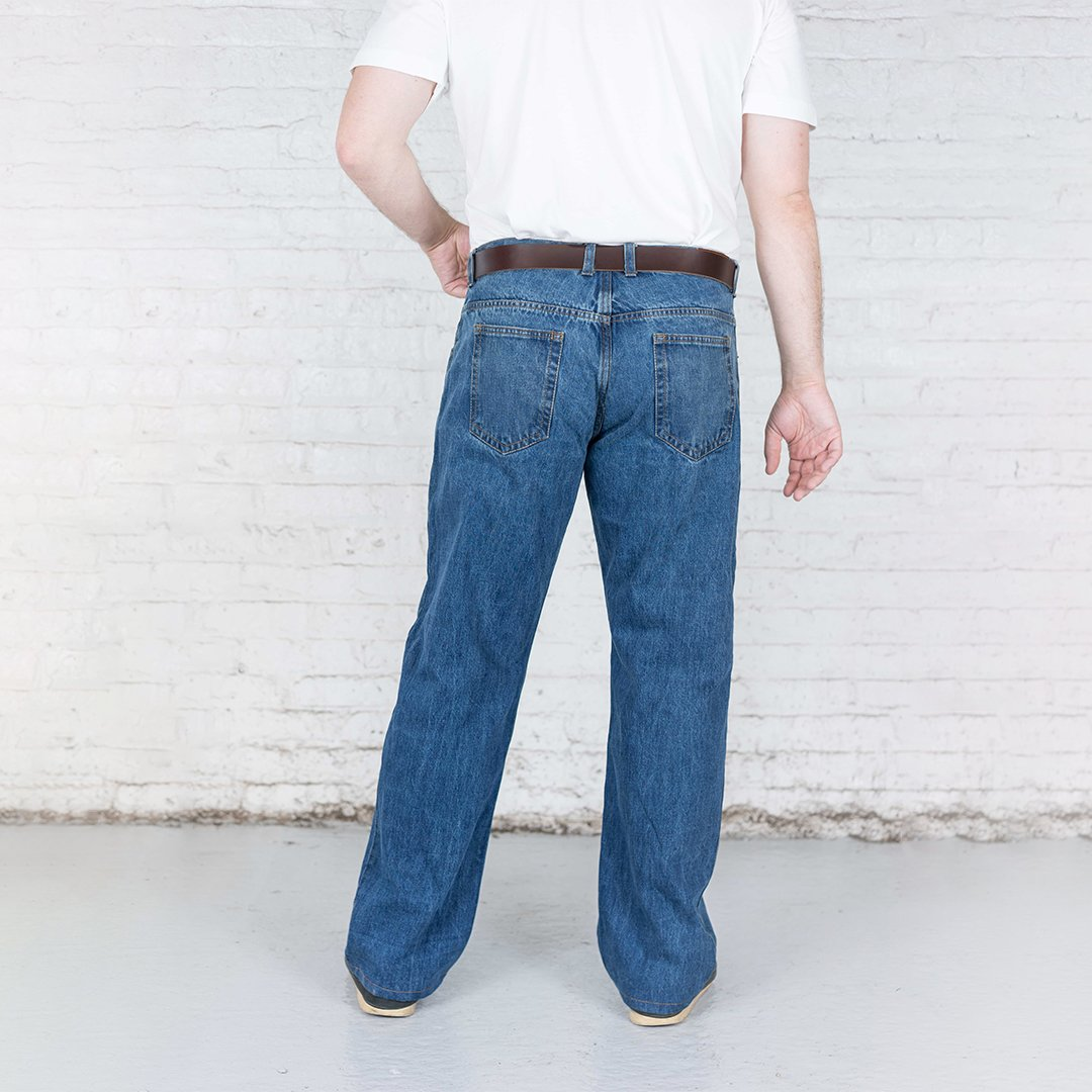 #4: 100% Cotton Relaxed Fit Vintage Wash