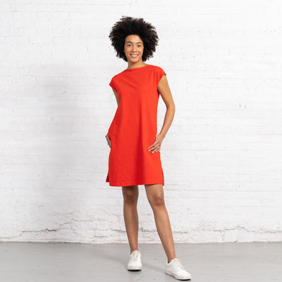 Color:Bright Red Combed Cotton New