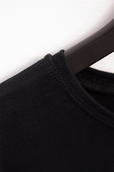 #2: The Most Comfortable Black T - Fitted