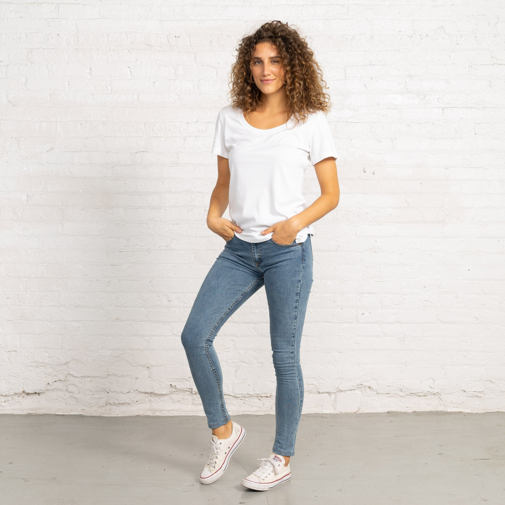 Lucy Light Stretch Denim Jeans Women's Jeans