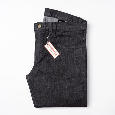 Slim Fit Charcoal Wash
