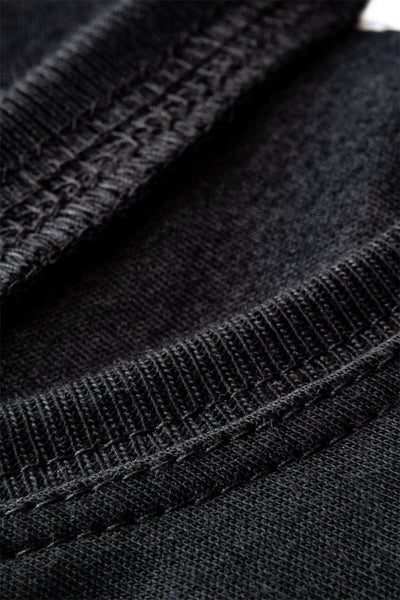 #4: The Most Comfortable Black T - Fitted