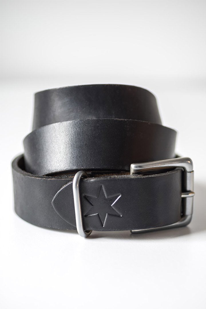 #2: Black Leather Belt