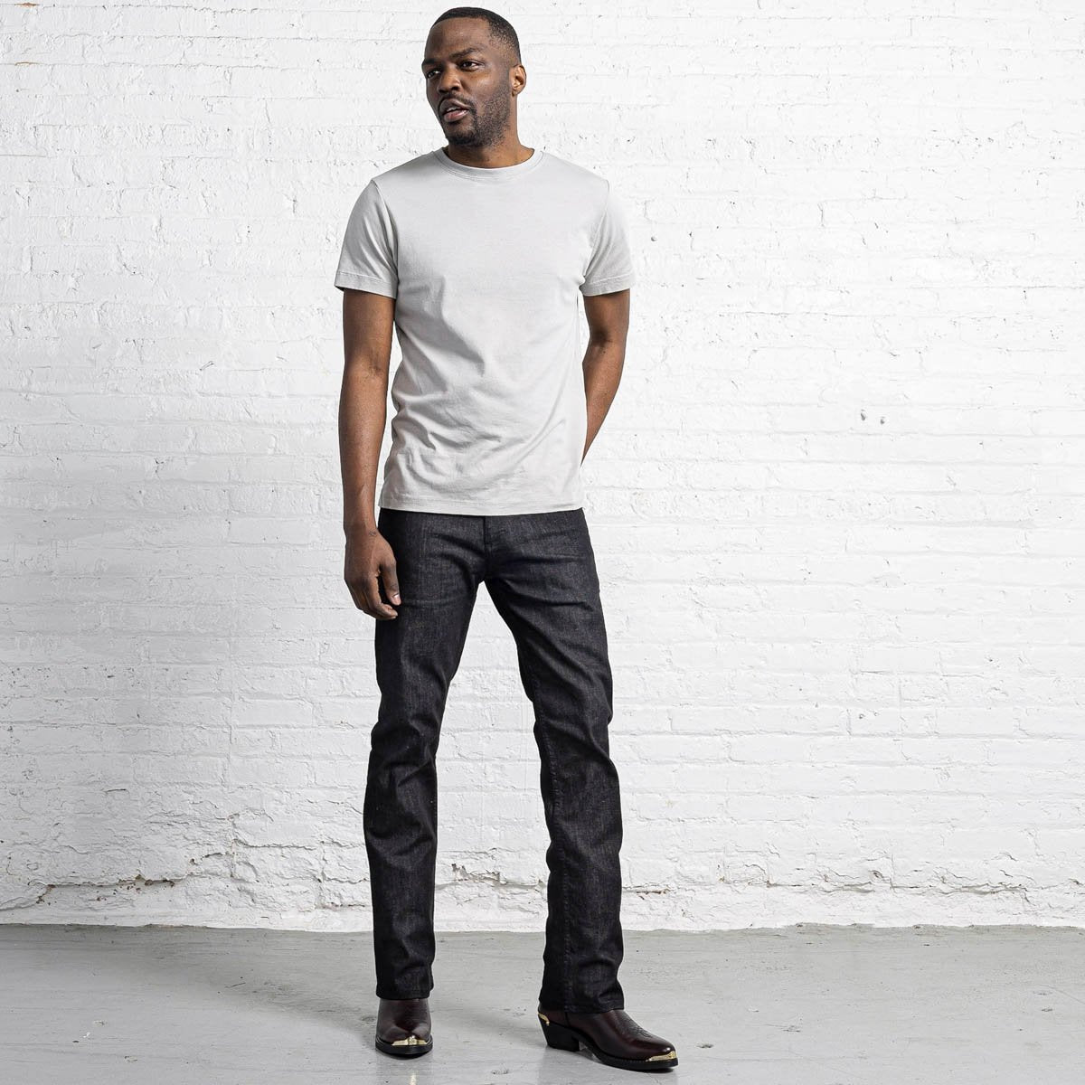 Boot Cut Charcoal Wash