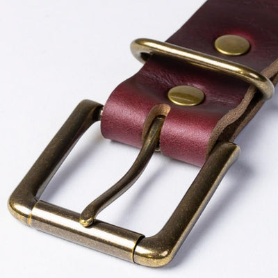 #1: Color #8 Leather Belt