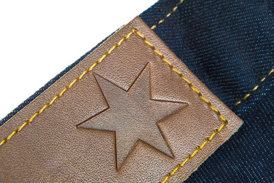 Chicago Star Leather Patch - h DETAIL