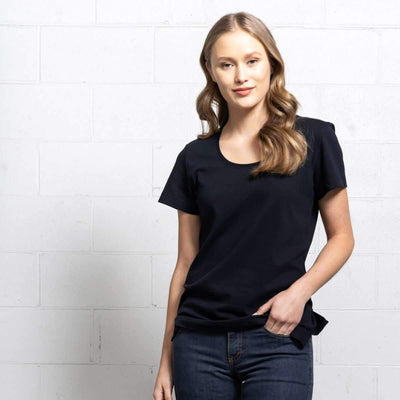 More images: #10: Boatneck Black T