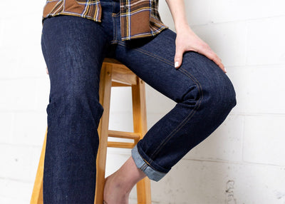 More images: #19: Waist High 13oz Dark Wash