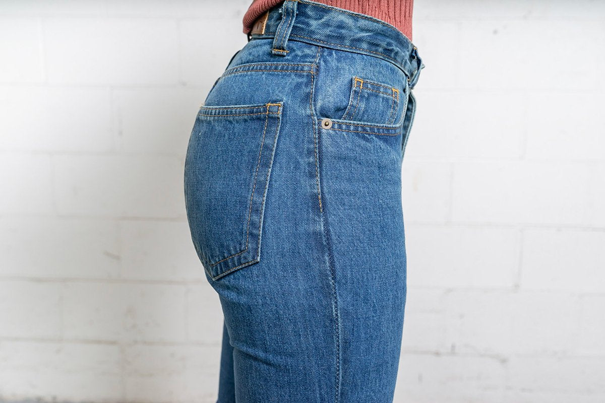 More images: #18: Waist High Curve 13oz Vintage Wash