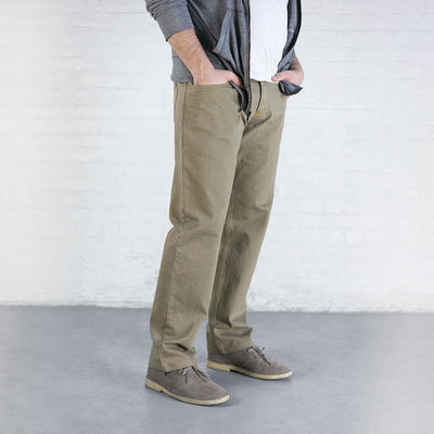 #2: Relaxed Fit - Khaki