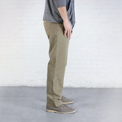 #4: Relaxed Fit - Khaki