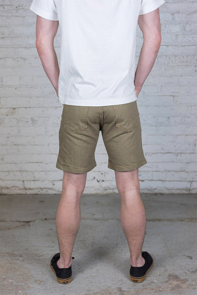 #4: khaki-denim-shorts