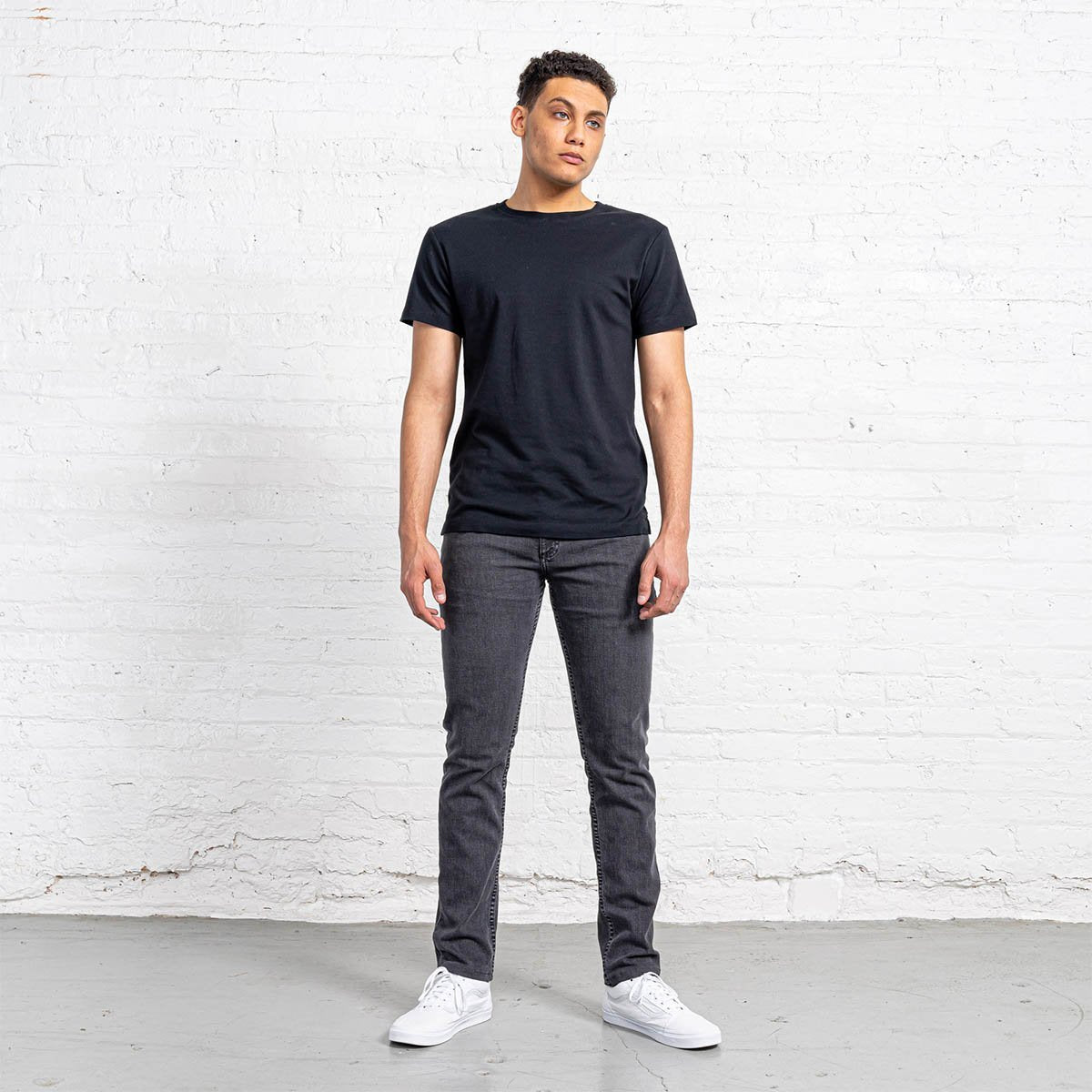 Slim Fit Grey Wash