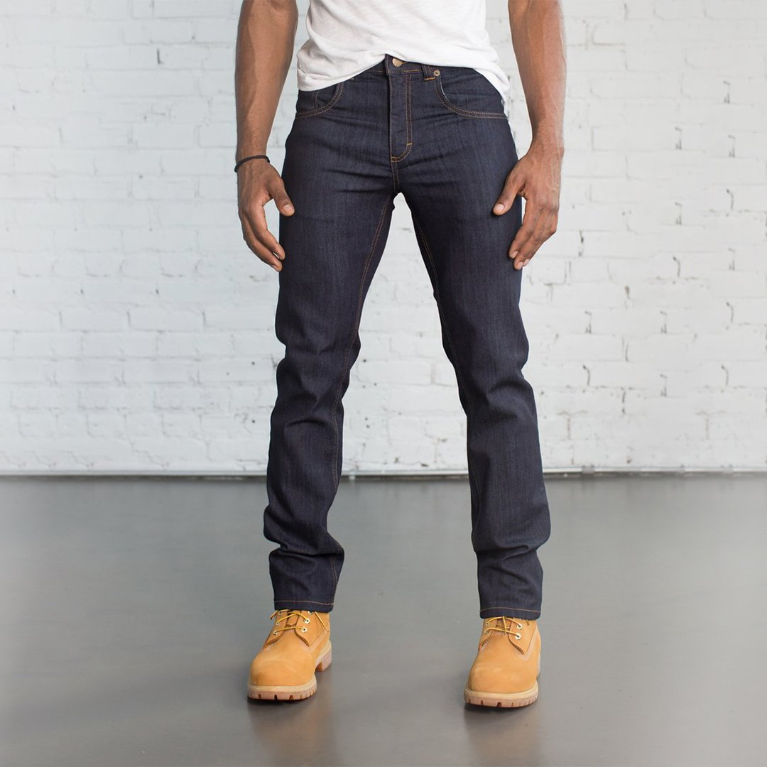 #2: Slim Fit Dark Wash