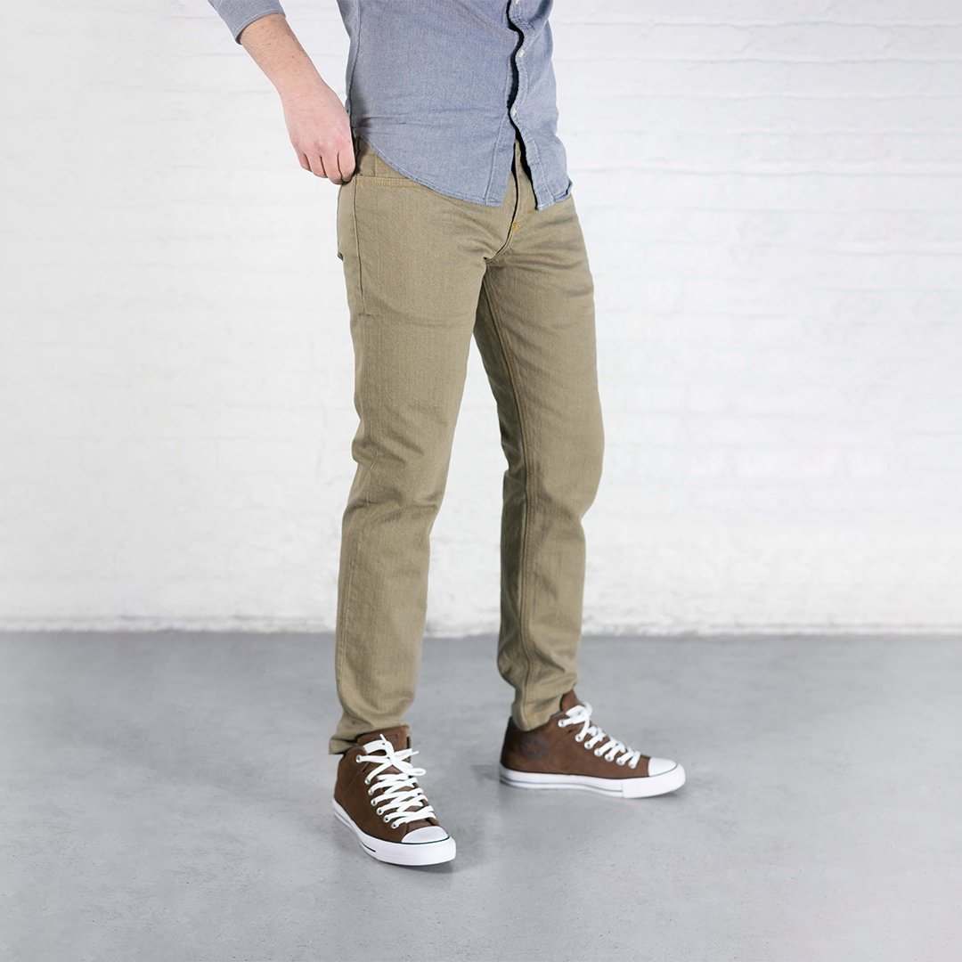 #4: Slim Fit - Khaki