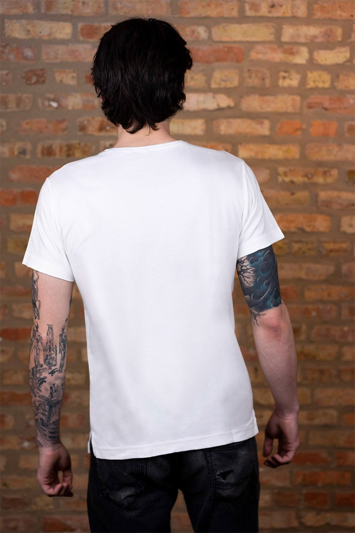 #2: The Most Comfortable White T - Fitted
