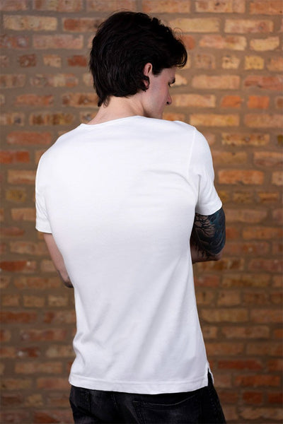 #5: The Most Comfortable White T - Fitted