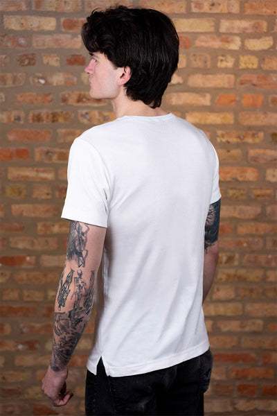 #4: The Most Comfortable White T - Fitted