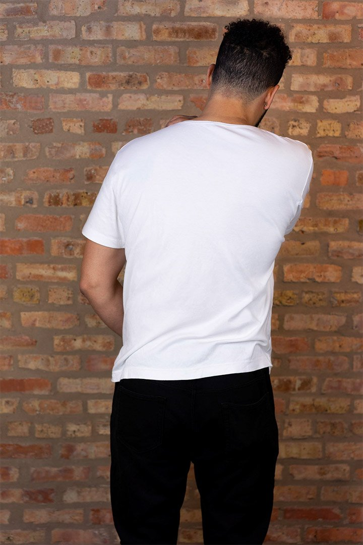 #3: The Most Comfortable White T - Classic