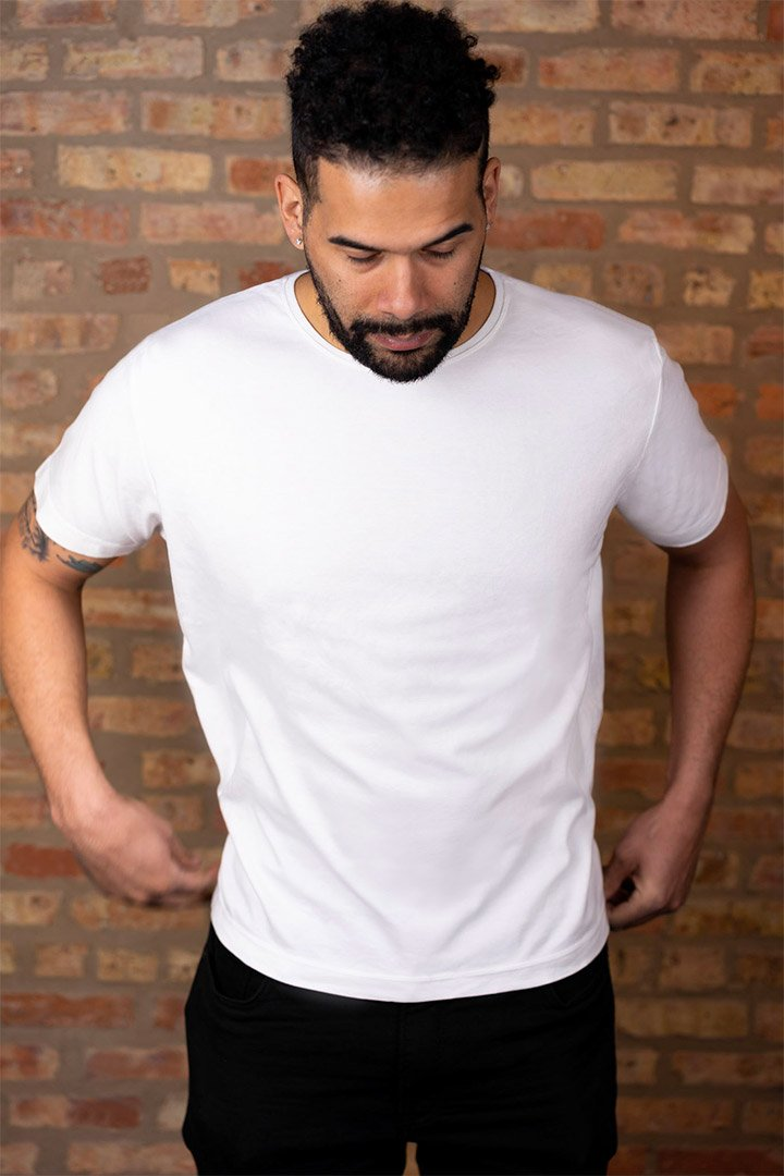 #2: The Most Comfortable White T - Classic