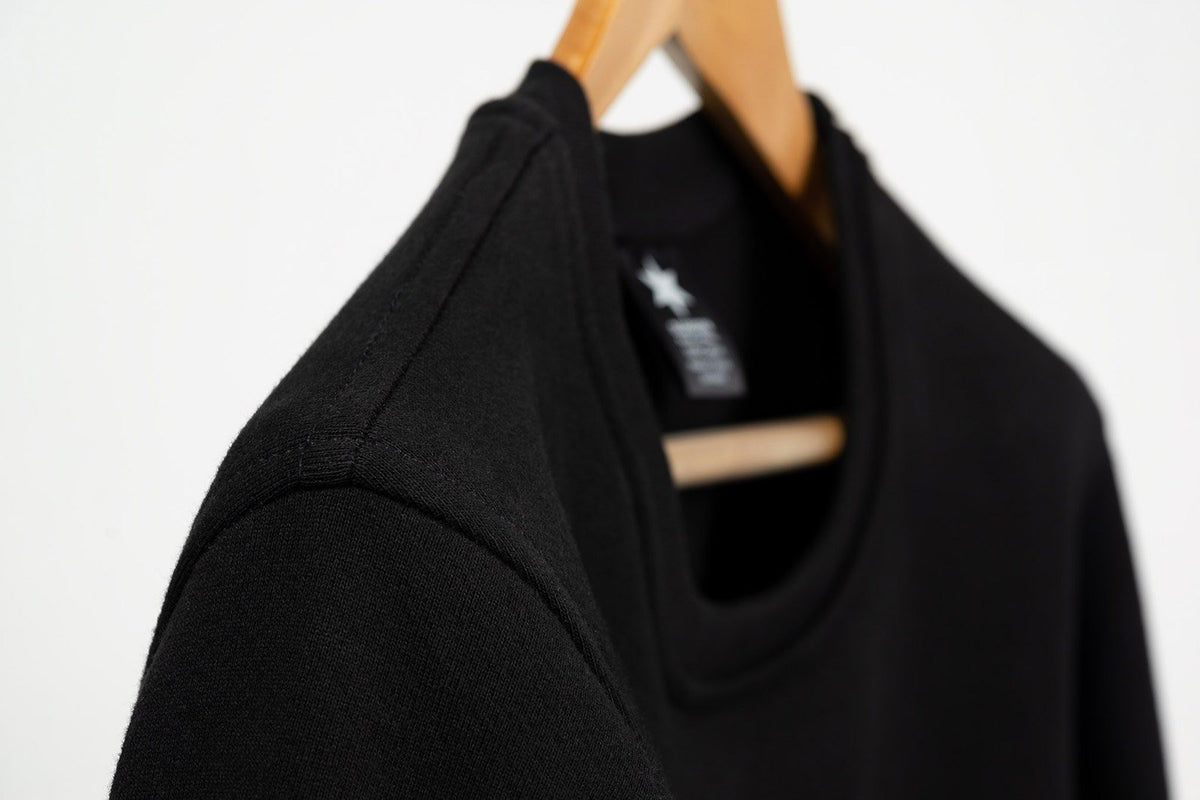 More images: More images: Collegiate Sweatshirt - Black