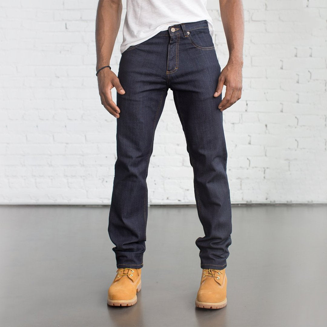 #1: Tailored Fit Dark Wash