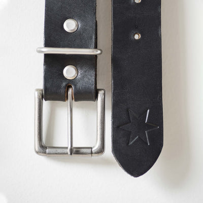 #1: Black Leather Belt