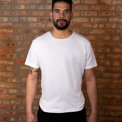 #1: The Most Comfortable White T - Classic