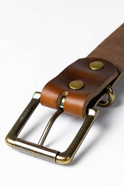 #3: Chicago Tan Leather Belt