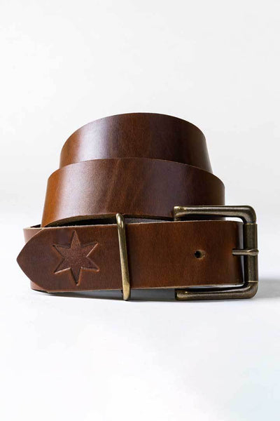 #2: Chicago Tan Leather Belt