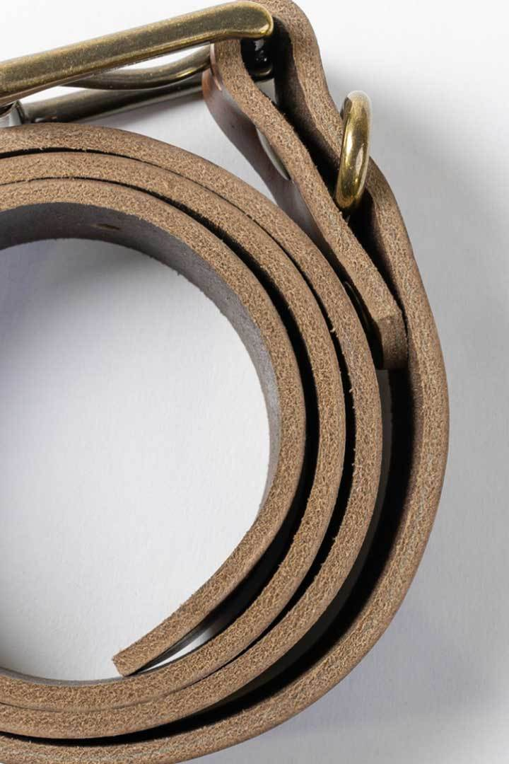 More images: #6: Chicago Tan Leather Belt